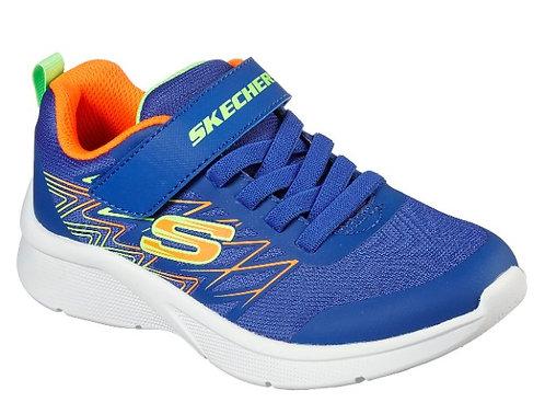 Skechers 403770N/BBOR Texlor Boys Blue/Orange
