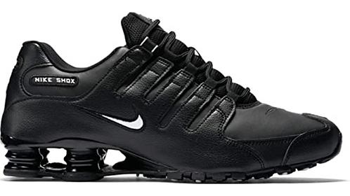 Nike 501524 091 Shox NZ EU Black/White Mens