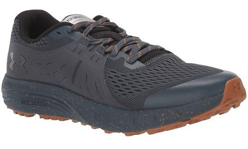 Under Armour 3021951-400 Charged Bandit Trail Running Shoes Men's Grey/Orange