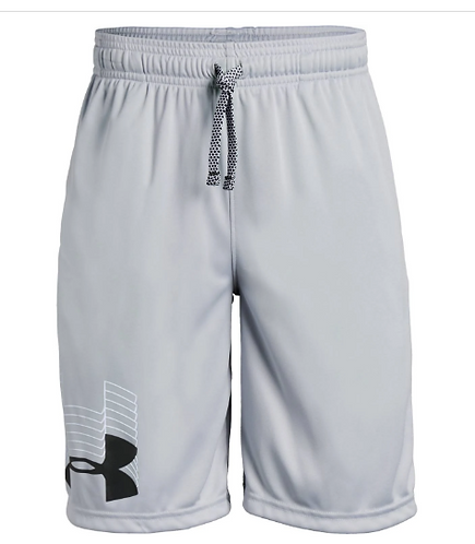 Under Armour 1341128 011 Gray Shorts Youth Boy