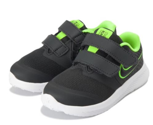 Nike AT1803 004 Star Runner 2 (TDV) Sneakers Toddler/Baby Anthracite/Green