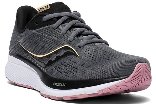 Saucony S10654-45 Guide 14 Womens Charcoal/Rose