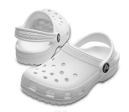 Crocs 204536-100 Classic Clog White