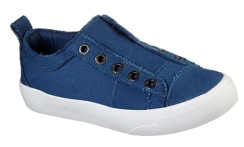 Skechers 31938//BLU Bobs Cloudy-Squadville Slip On Sneakers Women's Blue