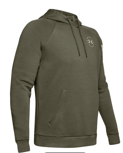Under Armour 1352678 390 Freedom Hoodie Mens Green