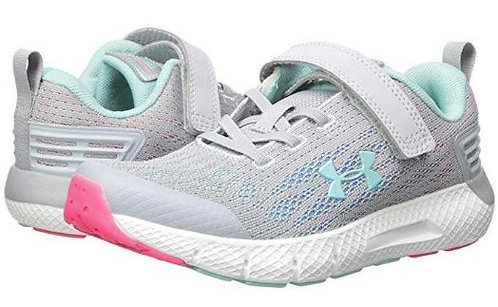 Under Armour 3022459-100 GPS Rogue AC Athletic Shoes Girl's Grey