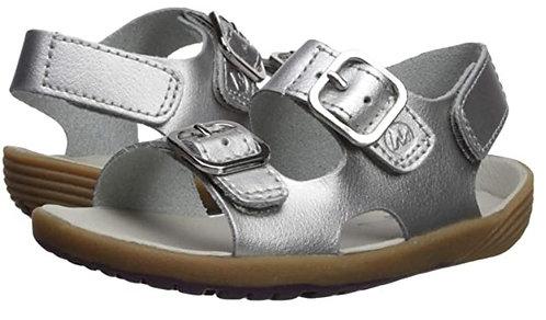 Merrell ML161231 Bare Steps Sandal Silver Baby Girls