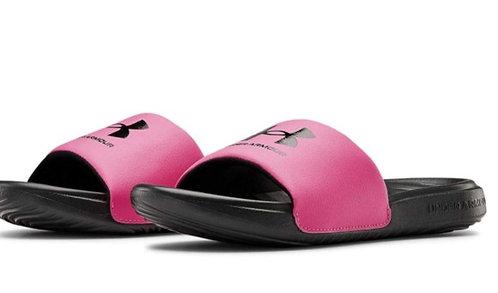 Under Armour 3023793 002 Unisex-Child Ansa Fix Slide Sandal