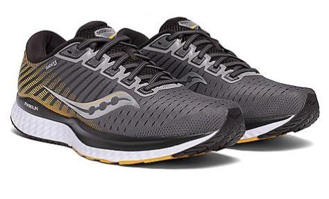 Saucony S20548-45 Guide 13 Running Shoes Men's Grey/Yellow