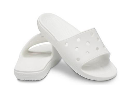 Crocs 206121-100 Classic Slide White