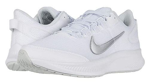 Nike CD0224 100 Runallday 2 Athletic Shoes Women's White/Silver