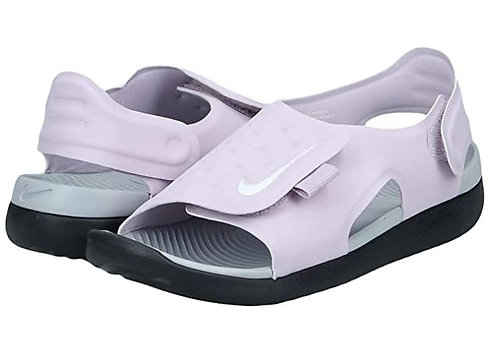 Nike AJ9076 501 Sunray Adjust 5 (GS/PS) Sandals Girl's Lilac/Grey