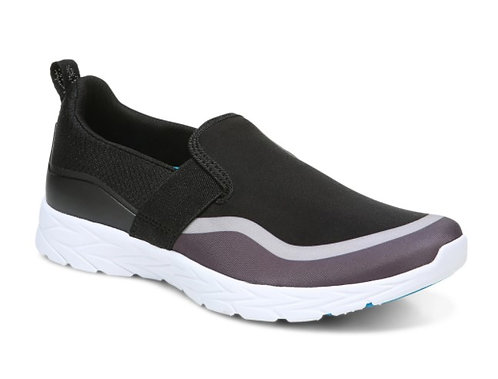 Vionic Nalia Slip On Black /Grey Womens