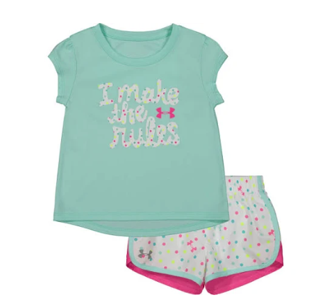 Under Armour 27102022-46 2 Piece Set Baby Girls
