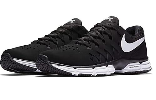 Nike  898066 001 Lunar Fingertrap Black/White Mens