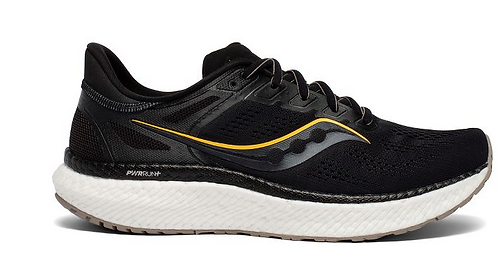 Saucony S20615-45 Hurricane 23 Mens Black/Gold