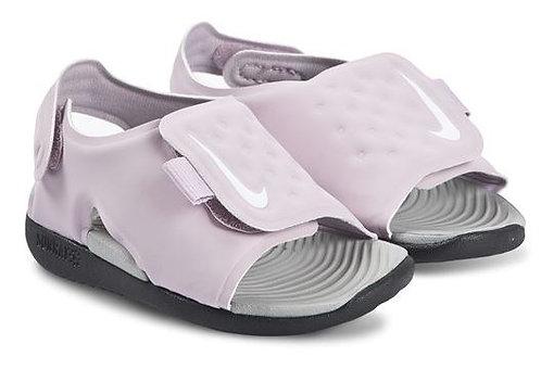 Nike AJ9077 501 Sunray Adjust 5 (TD) Sandals Toddler Lilac/Grey