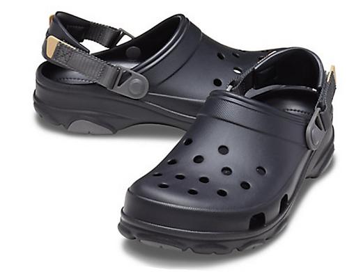 Crocs 206340-001 All Terrain Clog Black