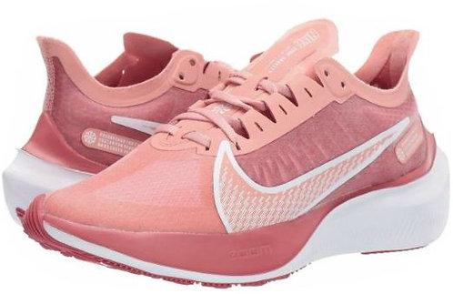 Nike BQ3203 600 Zoom Gravity Running Shoes Women's Pink Quartz/Metallic