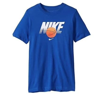 Nike CI9610-480 T-Shirt Blue Boys