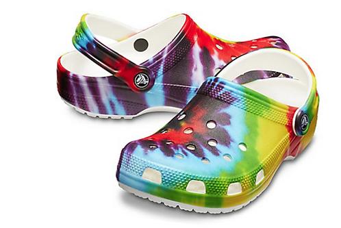 Crocs 205453-90HClassic Tye Dye Clog
