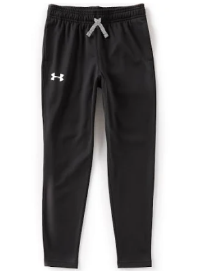 Under Armour 1331692 001 Tapered Leg Pants Black Youth Boy
