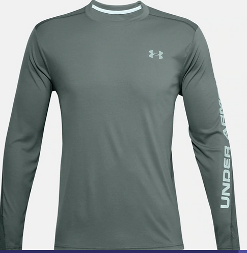 Under Armour 1351139 424 Long Sleeve Mens Lichen Blue