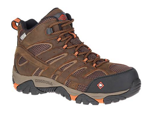 Merrell J11617W Moab Vertex Mid WP CT Mens Clay