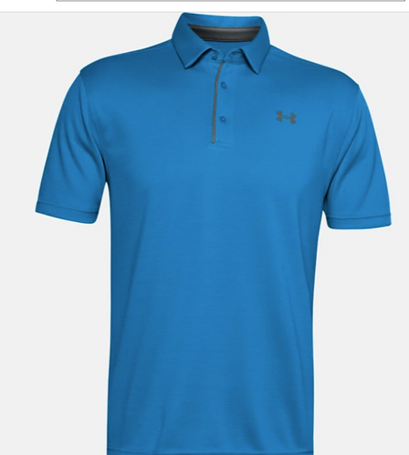 Under Armour 129014 428 Polo Mens Electric Blue
