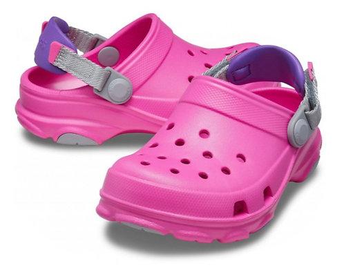 Crocs 207011-6QQ All-Terrain Clog Pink/Purple