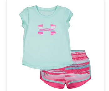 Under Armour 27102013-46 2 Piece Set Baby Girls