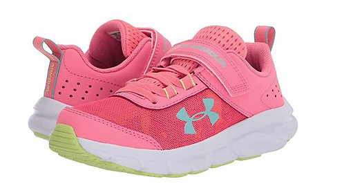 Under Armour 3022101-601 PS Assert 8 AC Athletic Shoes Girl's Bright Pink