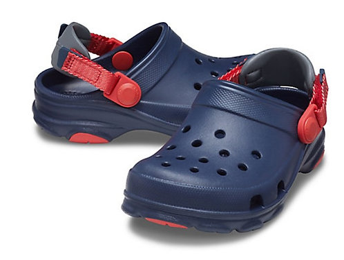 Crocs 207011-410 All-Terrain Clog Navy/Red