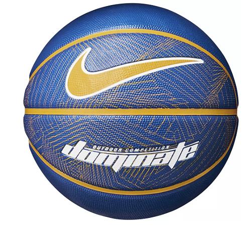 Nike Dominate Basketball Royal/Gold Full Size