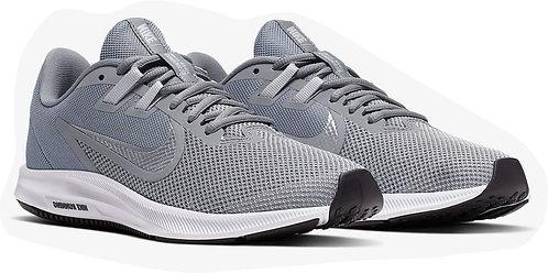 Nike AQ7481 001 Downshifter 9 Running Shoes Men's Grey/Silver