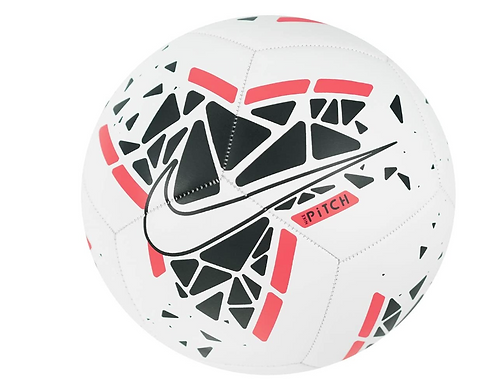 Nike  SC3807-102 Pitch Soccer Ball White/Red/Black