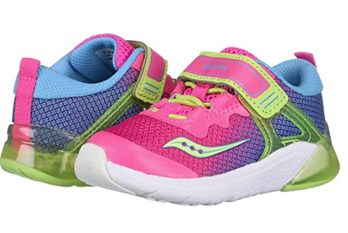 Saucony SL162515 Flash Glow Jr Pink/Multi
