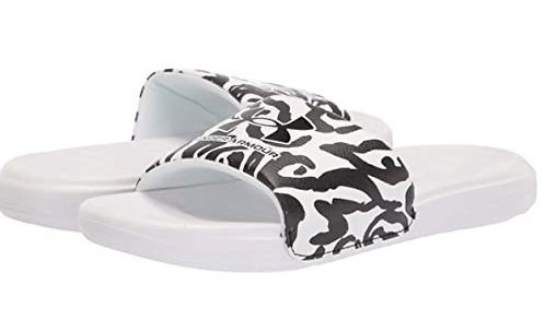 Under Armour 3024436 101 Ansa Slide Black/White Womens