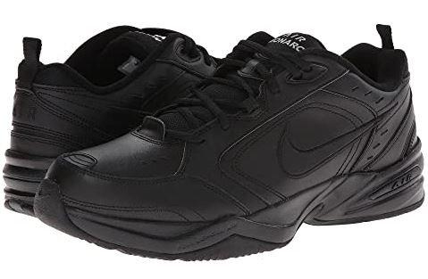 Nike 415445 001 Air Monarch IV Athletic Shoes Men's Black