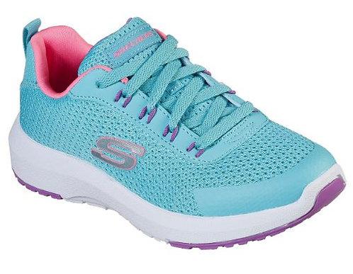 Skechers 81364L/TQMT Dynamic Tread Sneakers Girl's Turq/Multi