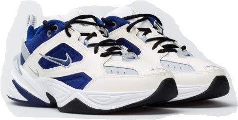 Nike AV4789 103 M2K Tekno Athletic Shoes Men's White/Royal