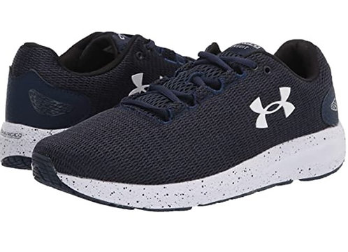 Under Armour 3023304-401 Charged Pursuit 2 Twist Navy Mens