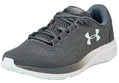 Under Armour 3022604-103 Charged Pursuit 2 Womens Gray
