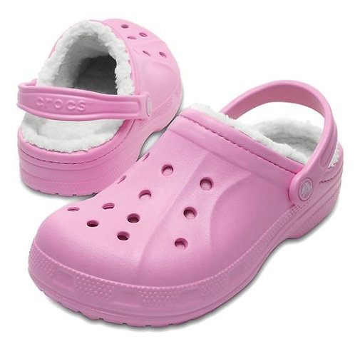 Crocs 203766-6U5 Winter Clogs Unisex Carnation Pink