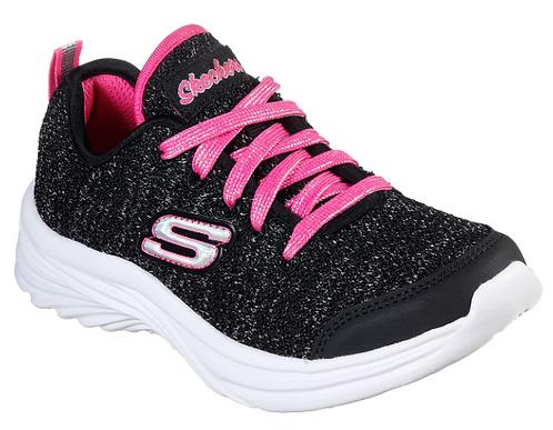 Skechers 81517L/BKNP Dreamy Dancer-Twirly Time Sneakers Girls Black/Pink