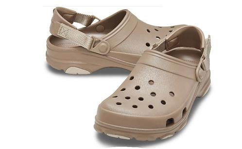 Crocs 206340-260 Classic All Terrain Clog Khaki