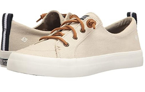 Sperry STS98644 Crest Vibe Linen Oat Womens