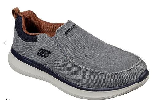 Skechers 210025/GRY Larwin Mens Gray
