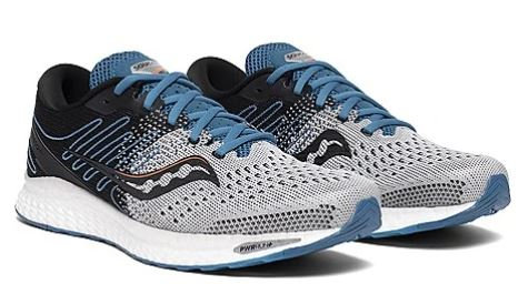 Saucony S20543-25 Freedom 3 Running Shoes Men's Grey/Blue