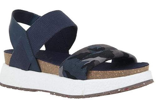 OTBT Libra Blue Camo Sandal Womens